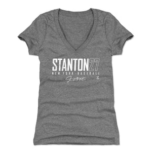 Giancarlo Stanton Women's V-Neck T-Shirt | 500 LEVEL