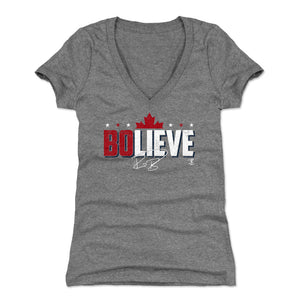 Bo Bichette Women's V-Neck T-Shirt | 500 LEVEL