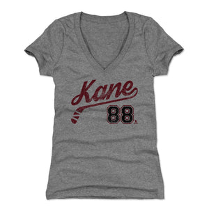 Patrick Kane Women's V-Neck T-Shirt | 500 LEVEL