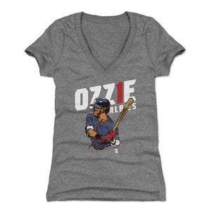 Ozzie Albies Women's V-Neck T-Shirt | 500 LEVEL