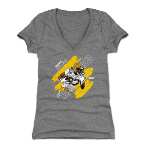 Aaron Jones Women's V-Neck T-Shirt | 500 LEVEL