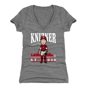 Andrew Knizner Women's V-Neck T-Shirt | 500 LEVEL
