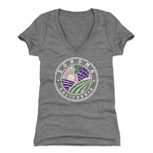 Sonoma Women's V-Neck T-Shirt | 500 LEVEL