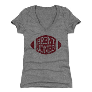 Brent Jones Women's V-Neck T-Shirt | 500 LEVEL