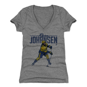 Ryan Johansen Women's V-Neck T-Shirt | 500 LEVEL
