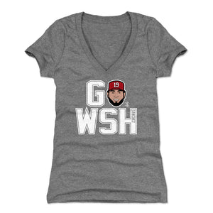 Anibal Sanchez Women's V-Neck T-Shirt | 500 LEVEL
