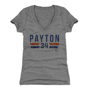 Walter Payton Women's V-Neck T-Shirt | 500 LEVEL