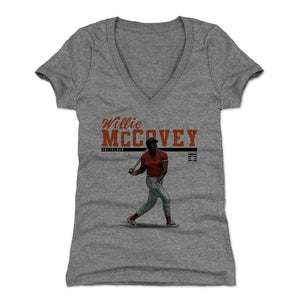 Willie McCovey Women's V-Neck T-Shirt | 500 LEVEL