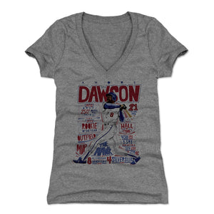 Andre Dawson Women's V-Neck T-Shirt | 500 LEVEL