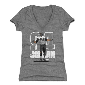Cameron Jordan Women's V-Neck T-Shirt | 500 LEVEL