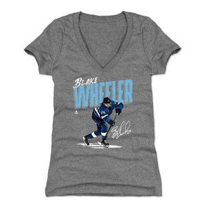 Blake Wheeler Women's V-Neck T-Shirt | 500 LEVEL