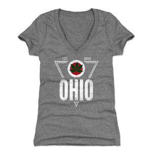 Ohio Women's V-Neck T-Shirt | 500 LEVEL