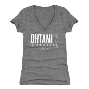 Shohei Ohtani Women's V-Neck T-Shirt | 500 LEVEL