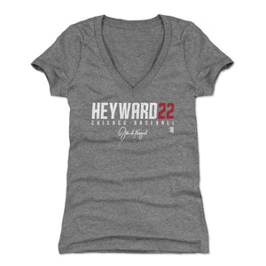 Jason Heyward Women's V-Neck T-Shirt | 500 LEVEL