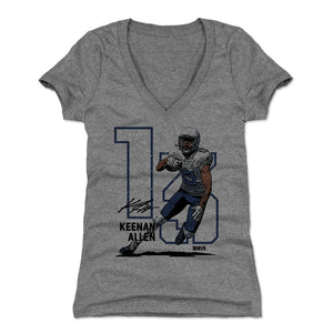 Keenan Allen Women's V-Neck T-Shirt | 500 LEVEL