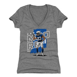 Kenny Moore Women's V-Neck T-Shirt | 500 LEVEL