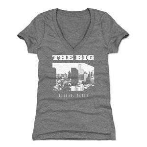 Dallas Women's V-Neck T-Shirt | 500 LEVEL