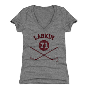 Dylan Larkin Women's V-Neck T-Shirt | 500 LEVEL