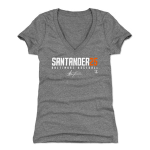 Anthony Santander Women's V-Neck T-Shirt | 500 LEVEL