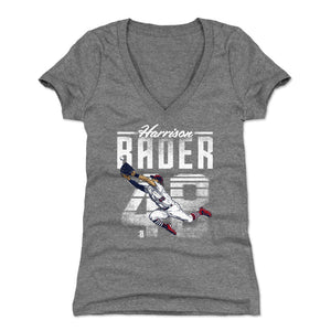 Harrison Bader Women's V-Neck T-Shirt | 500 LEVEL