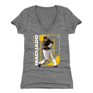 Manny Machado Women's V-Neck T-Shirt | 500 LEVEL