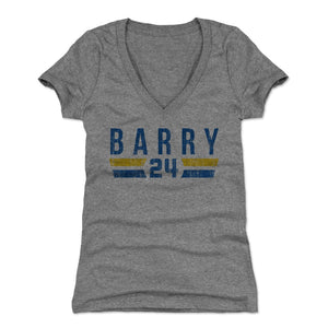 Rick Barry Women's V-Neck T-Shirt | 500 LEVEL