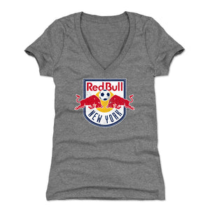 New York Red Bulls Women's V-Neck T-Shirt | 500 LEVEL