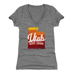 Utah Women's V-Neck T-Shirt | 500 LEVEL