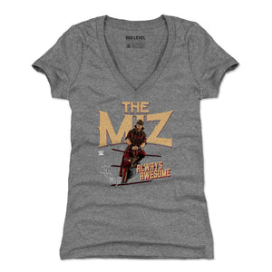 The Miz Women's V-Neck T-Shirt | 500 LEVEL