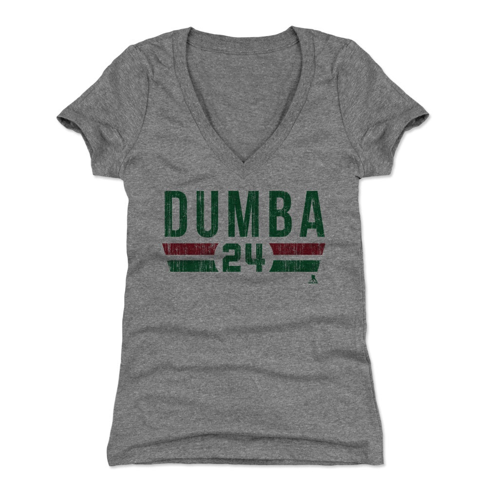 Matt Dumba Women's V-Neck T-Shirt | 500 LEVEL