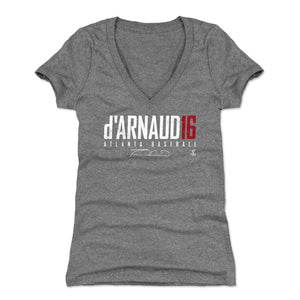 Travis d'Arnaud Women's V-Neck T-Shirt | 500 LEVEL