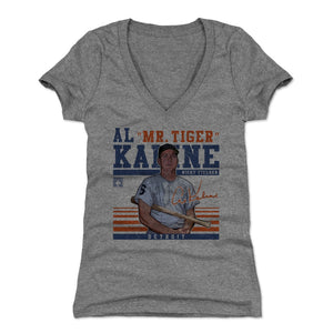 Al Kaline Women's V-Neck T-Shirt | 500 LEVEL