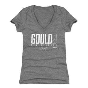 Robbie Gould Women's V-Neck T-Shirt | 500 LEVEL