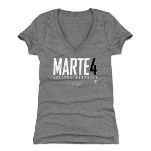 Ketel Marte Women's V-Neck T-Shirt | 500 LEVEL
