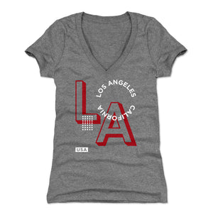 Los Angeles Women's V-Neck T-Shirt | 500 LEVEL