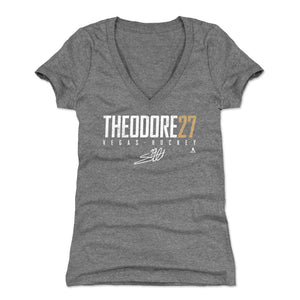 Shea Theodore Women's V-Neck T-Shirt | 500 LEVEL