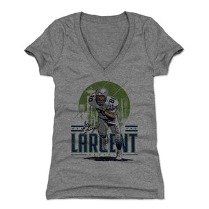 Steve Largent Women's V-Neck T-Shirt | 500 LEVEL