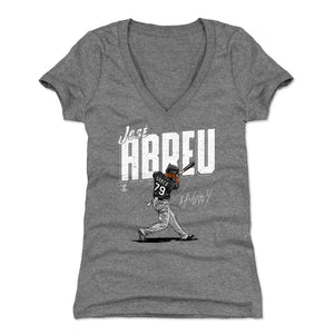 Jose Abreu Women's V-Neck T-Shirt | 500 LEVEL