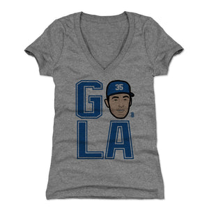 Cody Bellinger Women's V-Neck T-Shirt | 500 LEVEL