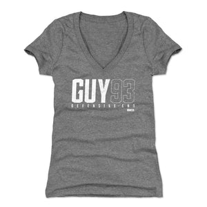Lawrence Guy Women's V-Neck T-Shirt | 500 LEVEL