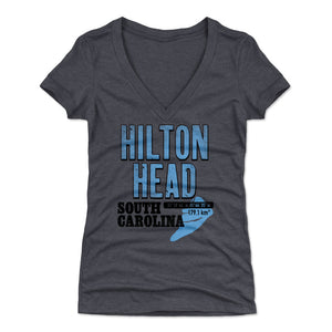 Hilton Head Women's V-Neck T-Shirt | 500 LEVEL