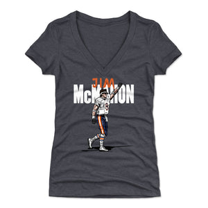 Jim McMahon Women's V-Neck T-Shirt | 500 LEVEL