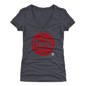 Rick Ferrell Women's V-Neck T-Shirt | 500 LEVEL
