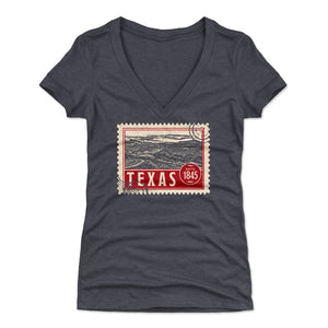 Texas Women's V-Neck T-Shirt | 500 LEVEL