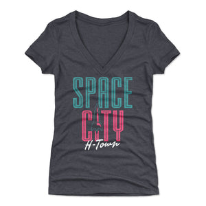 Houston Women's V-Neck T-Shirt | 500 LEVEL