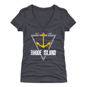 Rhode Island Women's V-Neck T-Shirt | 500 LEVEL