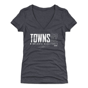 Karl-Anthony Towns Women's V-Neck T-Shirt | 500 LEVEL