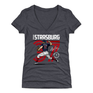 Stephen Strasburg Women's V-Neck T-Shirt | 500 LEVEL
