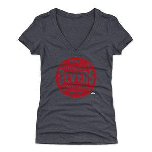 Rafael Devers Women's V-Neck T-Shirt | 500 LEVEL