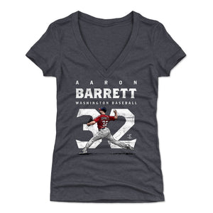 Aaron Barrett Women's V-Neck T-Shirt | 500 LEVEL